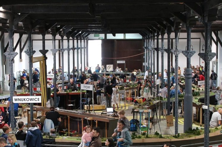Wystawy makiet kolejowych